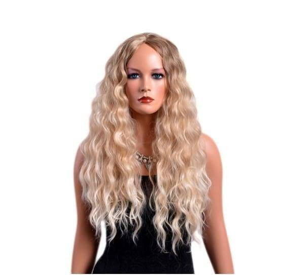 Amournova.com - Affordable Quality, Fun Shopping, Free Shipping Long Curly Blond Synthetic Hair Wig