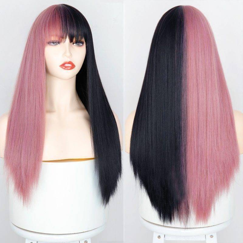 Colorful Wigs Hair Wigs Hair Extensions & Wigs Health & Beauty